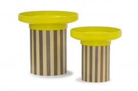 BOWL STORAGE TABLE SET OF 2 - CDFL3059