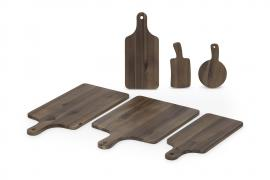 ROUNDED RECTANGLE ACACIA CUTTING BOARD - CDTW3082
